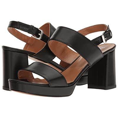 Summit by White Mountain Emilia (Black Leather) Women