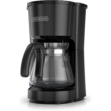 Black + Decker CM0700BZ Cafetera de 5 tazas, color negro