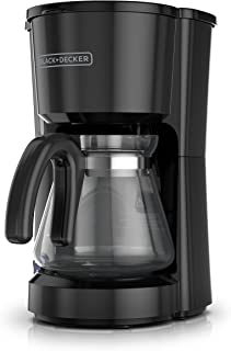 BLACK+DECKER 5-Cup Coffeemaker, Black, CM0700BZ