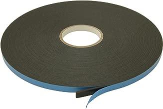 Double Coated Window Glazing Tape: 1/8 x ½ Inches x 75 Feet, Black