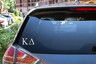 Kappa Delta Sticker Greek Sorority Decal for Car, Laptop, Windows, Officially Licensed Product, Monogram Design 2.5