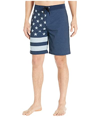 Hurley 20 Phantom Patriot Boardshorts (Obsidian) Men