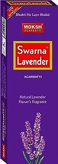 Moksh Swarna Lavender Agarbatti - Pack of 6 ( Multicolour)
