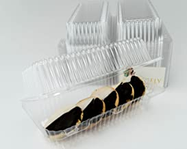 Katgely Loaf Deep Cookies Plastic Container (Pack of 50)