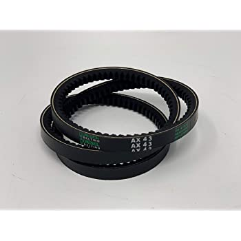 High Strength Rubber Belt Sears Craftsman 15 1//2 Inch Drill Press 113.21310 Replacement Drive Belt Drill Press Drive Belt Fits Made in the USA- Motor Drive Belt