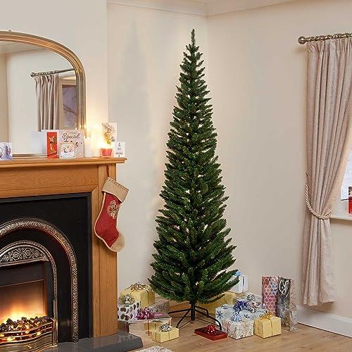 Tall Slim Christmas Trees Artificial.Slim Christmas Trees Amazon Co Uk
