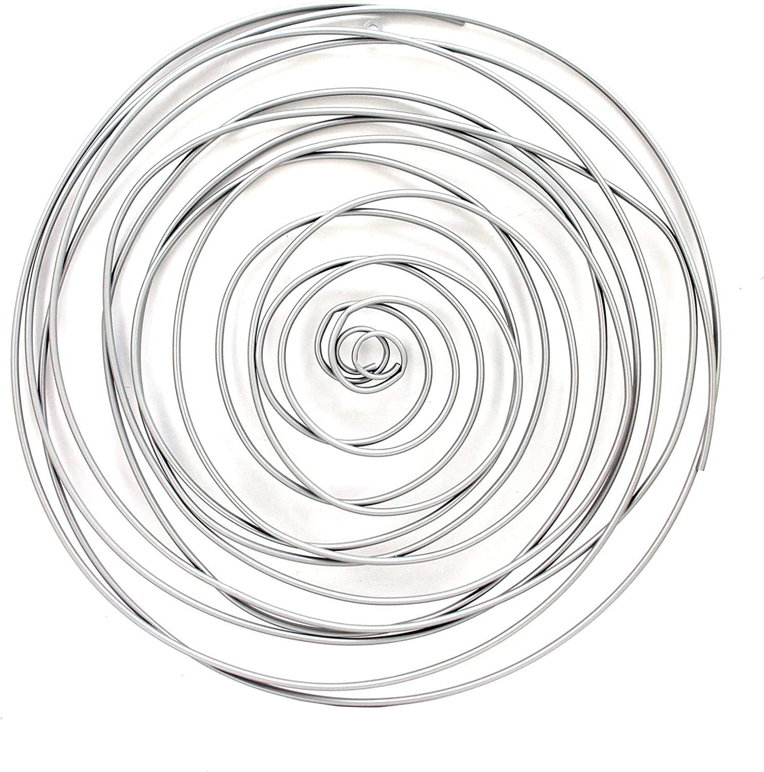 Benjara Contemporary Metal Wall Decor free shipping Spiral Irregular All items in the store with Shap