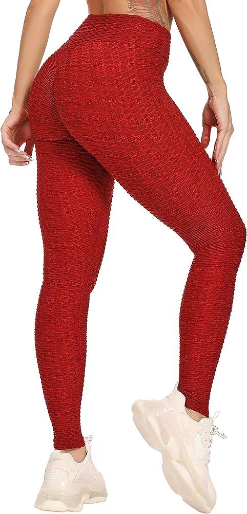Seasum, leggins donna sportivi anticellulite,push up vita alta yoga,poliestere 92%, spandex 8%