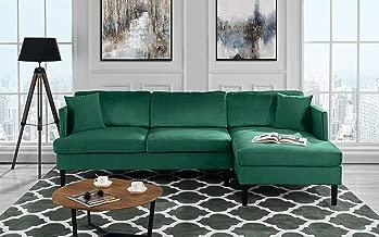 Best velvet sectional sofa Reviews