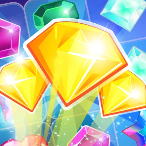 Shiny Jewels Match 3 - Match your way in Gems Match 3, a Free jewel blast classic Match three Game where you tap tap
