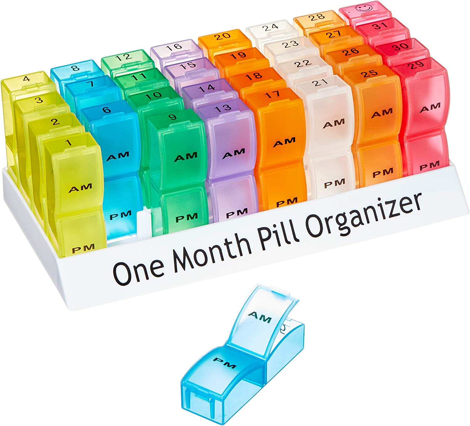Aidapt One Month Pill Organiser (Eligible for VAT Relief in The UK) : Health & Household