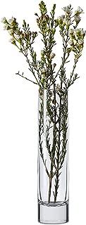 Libbey Cylinder Bud Vases, 7-5inch, Set of 12