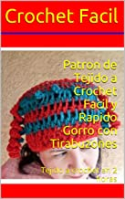 Patron de Tejido a Crochet Facil y Rapido Gorro con Tirabuzones: Tejido a crochet en 2 horas (Spanish Edition)