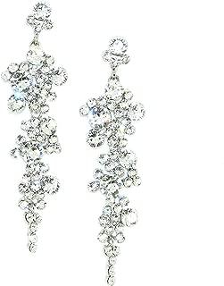 Cascading Crystal Chandelier Earrings