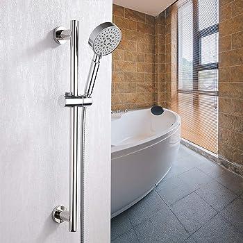 Soporte para alcachofa de ducha ajustable para barra de ducha de ...