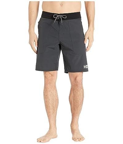 Salty Crew Leeward Utility Boardshorts (Charcoal) Men