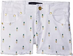 Pineapple Shorts (Big Kids)