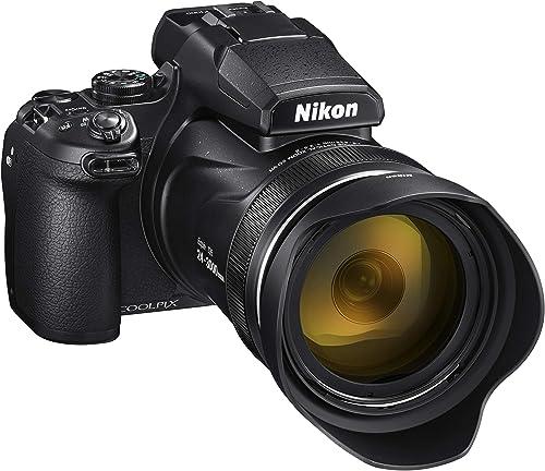 Nikon VQA060AA COOLPIX P1000 Digital Camera, Black