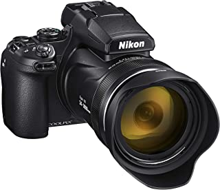 Nikon VQA060AA COOLPIX P1000 Digital Camera, Black