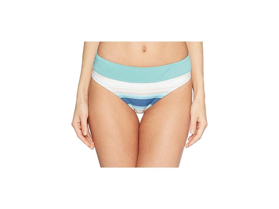 Carve Designs Catalina Bottom (Playa Stripe/Julep) Women