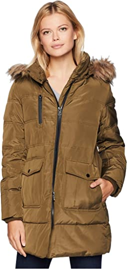 38514f13605 Astoria Down Filled Anorak with Faux Fur Trim Hood Patch Pockets. Like 74. Marc  New York ...