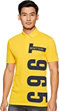 United Colors of Benetton Men's Printed Polo