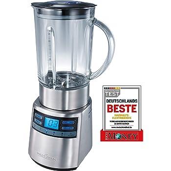 ProfiCook PC-UM 1086 Batidora de vaso, 1250 W, 1.5 litros, 1 Decibelios, Vidrio, 4 Velocidades, Gris: Proficook: Amazon.es: Hogar