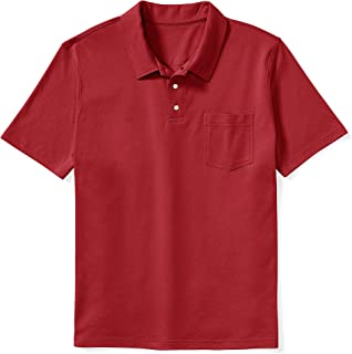 Men's Big & Tall Jersey Polo Shirt fit by DXL