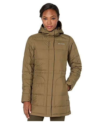 Columbia Hexbreakertm Down Jacket (Olive Green Heather) Women