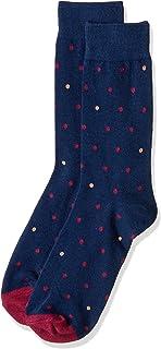 Van Heusen Men's Pair of Socks Pop Spots, Navy, One Size