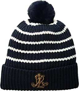 Rib Logo Patch Hat