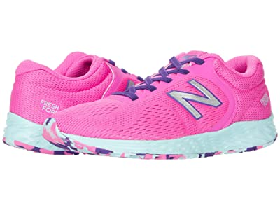 New Balance Kids Arishi v2 Bungee (Little Kid/Big Kid) (Fusion/Hi-Lite NB) Girls Shoes