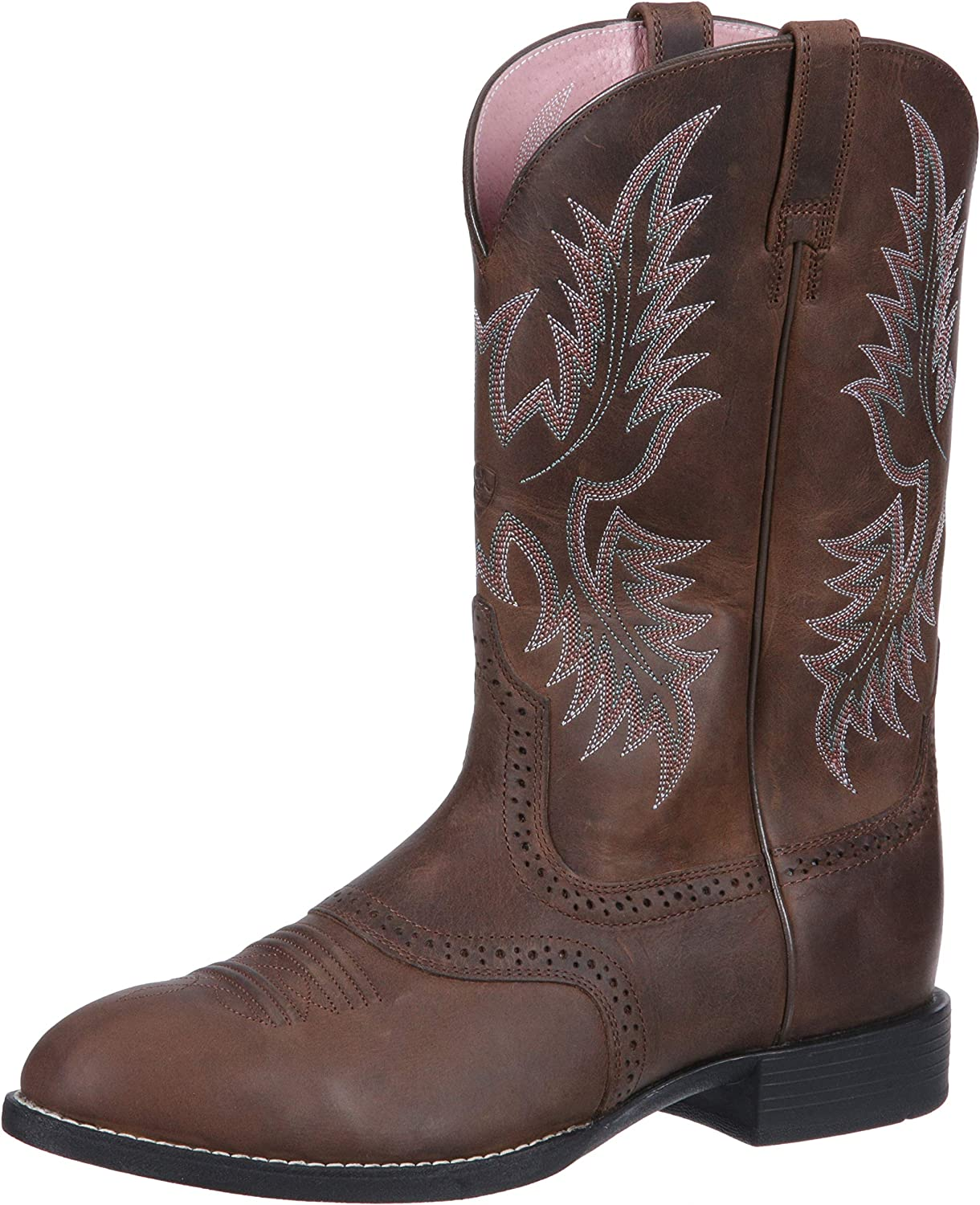 Ariat Women's Heritage Stockman Western Boot, Driftwood Brown Driftwood Brown, 9.5 C US
