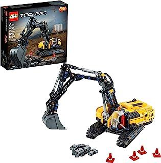 کیت ساخت اسباب بازی LEGO Technic Heavy Duty Excavator 42121؛ یک هدیه تولد یا هر زمان جالب برای بچه هایی که از اسباب بازی های ساختمانی لذت می برند. طراحی 2 در 1 باعث ایجاد سرگرمی بیشتر در ساختمان ، جدید 2021 (569 قطعه) می شود