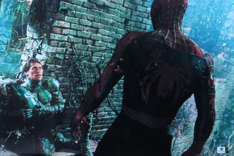 "Willem Dafoe as the Green Goblin in Sam Raimi's ""Spider Man"" (2002)"