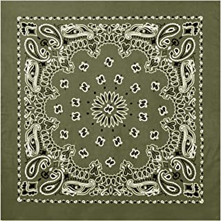 army green bandana
