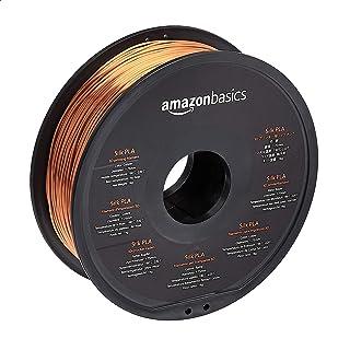 Amazon Basics Filament PLA Soie pour imprimante 3D 1,75mm Cuivré Bobine 1kg