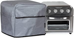 Crutello Convection Toaster Oven Cover with Storage Pockets Compatible with Cusinart TOA-28 Toaster Ovens - Measuring 13