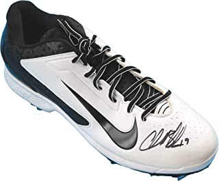 quality design 2ed09 c5cd6 Charlie Blackmon Colorado Rockies Signed Autographed Nike Baseball Shoe  Cleat JSA COA