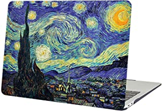 AUSMIX MacBook Pro Retina 15 inch Case (Model: A1398) Creative Stylish Famous Paintings Cover Hard Plastic Smooth Durable PC Shell for Newest Mac Pro 15 with Retina Display - Starry Night Van Gogh