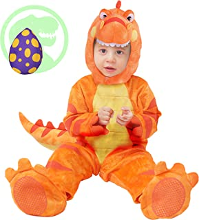 Spooktacular Creations Baby T-Rex Dinosaur Costume Set for Halloween Trick or Treating