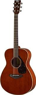 Yamaha FS850 Small Body Solid Top Acoustic Guitar, Mahogany