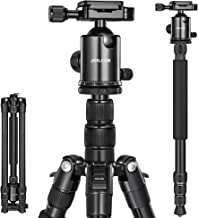 Joilcan 80-inch Tripod for Camera, Aluminum Tripod for DSLR,Monopod, Lightweight Tripod with 360 Degree Ball Head Stable for Travel and Work 18.5