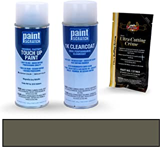 PAINTSCRATCH Magnetite Gray Metallic P8Y for 2018 Subaru Outback - Touch Up Paint Spray Can Kit - Original Factory OEM Automotive Paint - Color Match Guaranteed