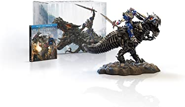 Transformers: Age of Extinction Gift Set with Grimlock and Optimus Collectible Statue