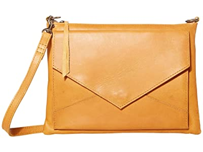 ABLE Solome Crossbody (Cognac) Cross Body Handbags
