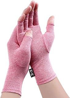 Athritis Gloves - Compression Rheumatoid Gloves Fingerless For Pain Relief Hand Glove Rehabilitation Relieve Pain Dailywor...