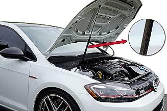 Redline Tuning QuickLIFT Carbon Fiber Sleeve for OEM Gas Struts Lifters (Hand Laid Carbon Fiber) Compatible for VW Volkswagen Golf & GTI Mk6 Mk7 2008+
