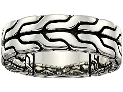 John Hardy Classic Chain Band Ring 8mm (Silver) Ring