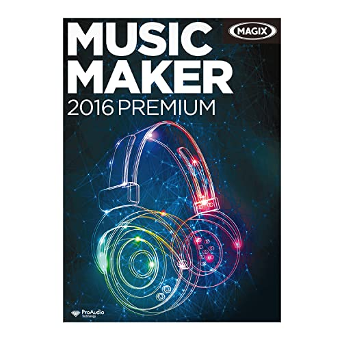 MAGIX Music Maker 2016 Premium [Download]